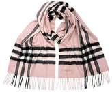 Burberry Women's Classic Cashmere Scarf in Check