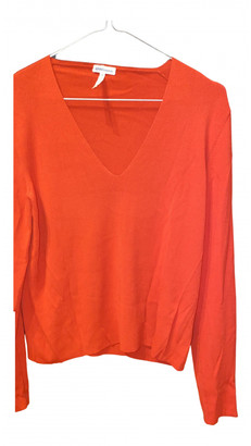 Hermes Red Viscose Tops