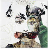 "'Audrey' Canvas Print by Ines Kouidis 24"" x 24"