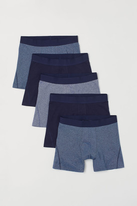 H&M 5-pack Boxer Shorts - Blue