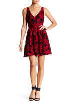 BB Dakota Lanson Contrast Lace A-Line Dress