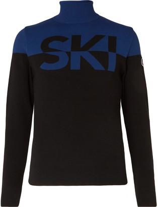 Fusalp Issyk Slim-Fit Colour-Block Intarsia Knitted Rollneck Ski Sweater