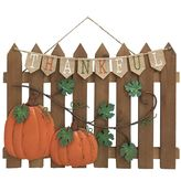 "Celebrate Fall Together ""Thankful"" Wall Decor"