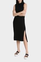 Organic Split Maxi Dress
