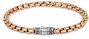 John Hardy Bronze & Sterling Silver Classic Chain Bracelet