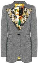 Dolce & Gabbana Wool-blend tweed blazer