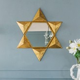 Graham and Green Gold Star Mirror