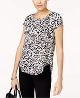 Alfani Petite Printed T-Shirt, Created for Macy's