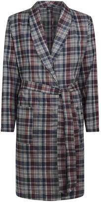 Hanro Cotton Check Robe