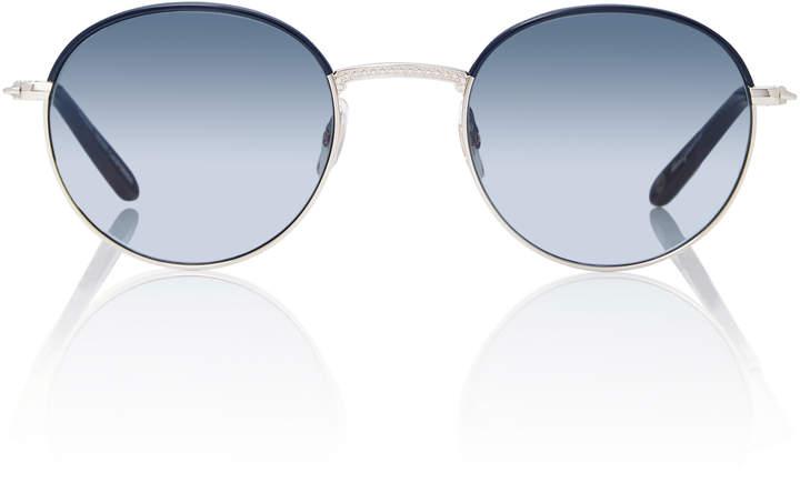 Garrett Leight Cloy 48 Round-Frame Sunglasses