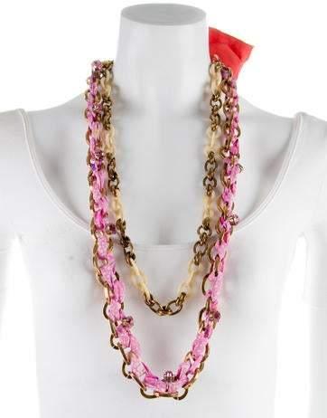 Nina Ricci Double Strand Necklace