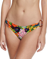 Milly Barbados Floral-Print Swim Bottom
