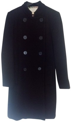 Cacharel Black Wool Coats