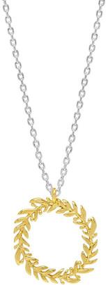 Estella Bartlett Olive Wreath Necklace