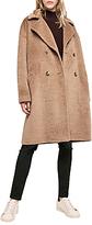 Gerard Darel Guy Wool Blend Coat, Camel