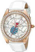 Betsey Johnson Women's BJ00048-139 Analog Display Quartz White Watch