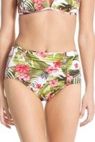 Tommy Bahama Beau Jardin High Waist Swim Brief