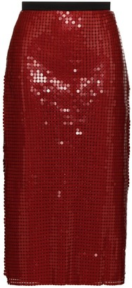 Christopher Kane Chainmail Midi Skirt