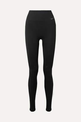Nike Power Studio Perforated Dri-fit Leggings - Black