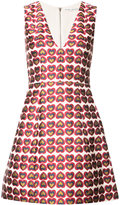 Alice + Olivia Alice+Olivia heart print mini dress