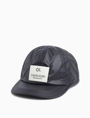 Calvin Klein Performance Nylon Logo Cap