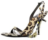 Roger Vivier Madame V.t.100 Open-toe Synthetic Heels.
