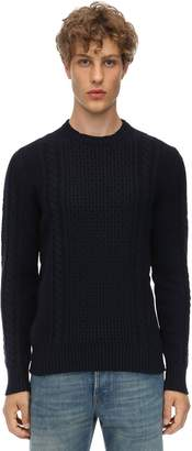 Piacenza Cashmere Cashmere Cable Knit Sweater