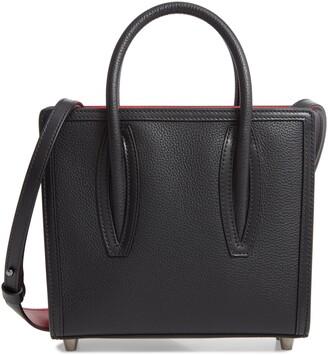 Christian Louboutin Mini Paloma Calfskin Leather Satchel