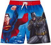 Asstd National Brand Batman vs. Superman Swim Trunks - Preschool Boys 4-7