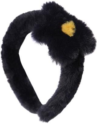 Il Gufo Faux Fur Headband