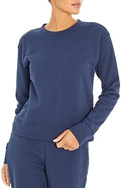 Three Dots Plush Terry Sweatshirt