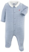 Petit Bateau Baby boys checkered pajamas