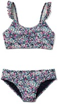 Gap Floral ruffle swim two-piece