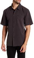 Quiksilver Centinela Textured Short Sleeve Shirt