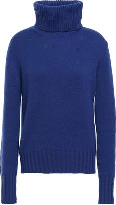 N.Peal Melange Cashmere Turtleneck Sweater