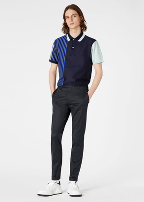 Paul Smith Men's Slim-Fit Dark Navy Stretch-Cotton Twill Chinos