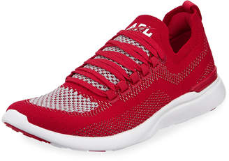 APL Athletic Propulsion Labs Athletic Propulsion Labs Techloom Breeze Metallic Knit Mesh Running Sneakers