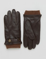Dents Penrith Leather Glove In Brown