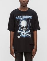 Mastermind Japan Distressed Mastermind Graphic S/S T-Shirt (Ver. 3)