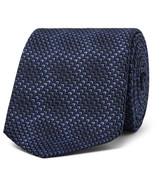 Ermenegildo Zegna 7cm Silk-jacquard Tie - Blue