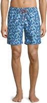 Bugatchi School Of Fish Swim Shorts
