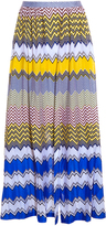 Missoni Zig Zag Stripe Split Skirt