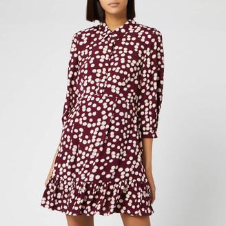 Whistles Women's Agata Illustrated Flower Dress