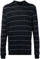 Bassike striped hoodie - men - Cotton - S