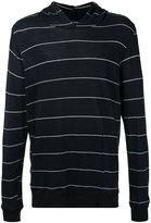 Bassike striped hoodie