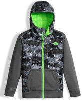 The North Face Canyonlands Hooded Mixed-Media Puffer Jacket, Gray, Size XXS-L