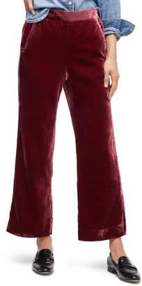 J.Crew Peyton Velvet Pull-On Pants