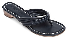 Bernardo Women's Miami Leather Thong Sandals