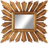 Rectangular Sunburst Mirror