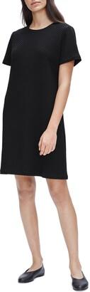 Eileen Fisher Textured T-Shirt Dress